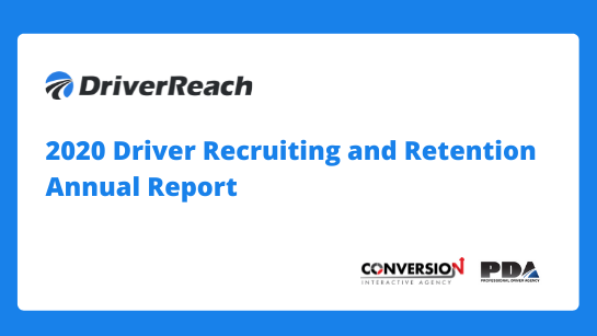 2020 Driver Recruiting and Retention Annual Report