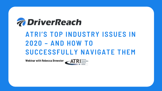 ATRIs Top Industry Issues in 2020 - And How to Successfully Navigate Them