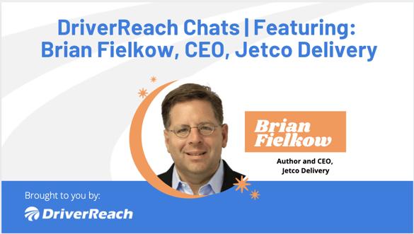 DriverReach Chats - Brian Fielkow