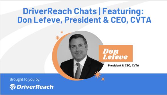 DriverReach Chats - Don Lefeve