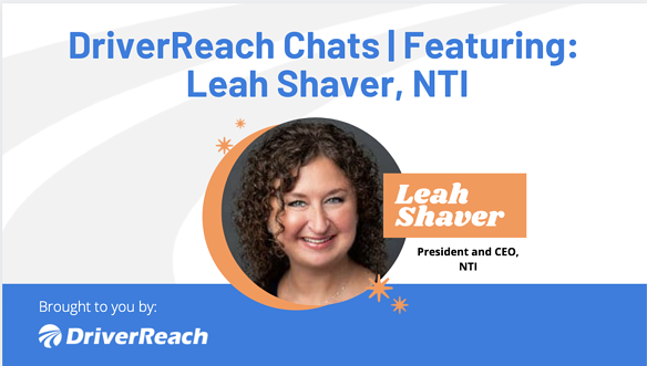 DriverReach Chats - Leah Shaver