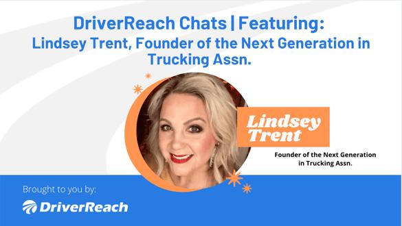 DriverReach Chats - Lindsey Trent