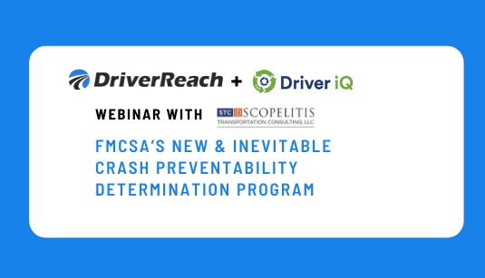 FMCSAs New & Inevitable Crash Preventability Determination Program