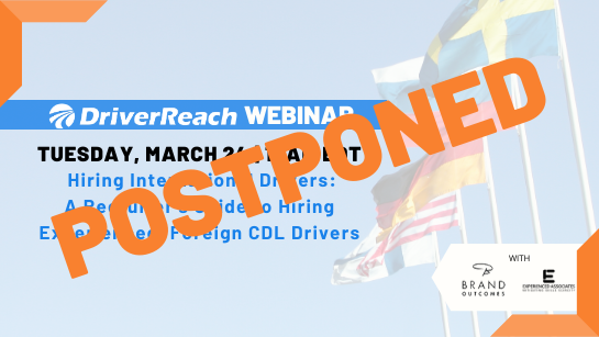 Hubspot Hiring International Drivers Webinar EDT Postponed
