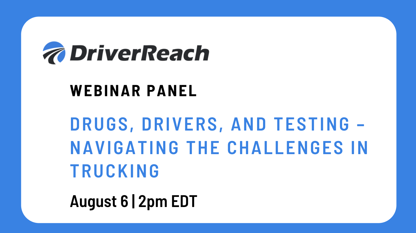 Hubspot Image Drugs, Drivers and Testing - Navigating the challenges in trucking