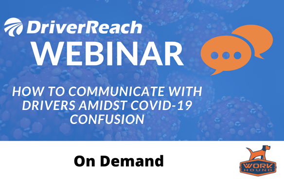 On Demand How to Communicate with Drivers Amidst Covid-19 Confusion
