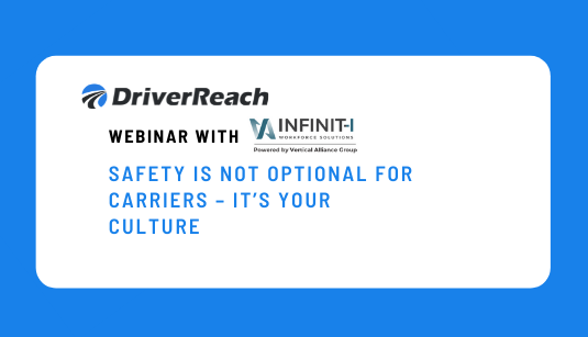 Safety Is Not Optional For Carriers - Its Your Culture
