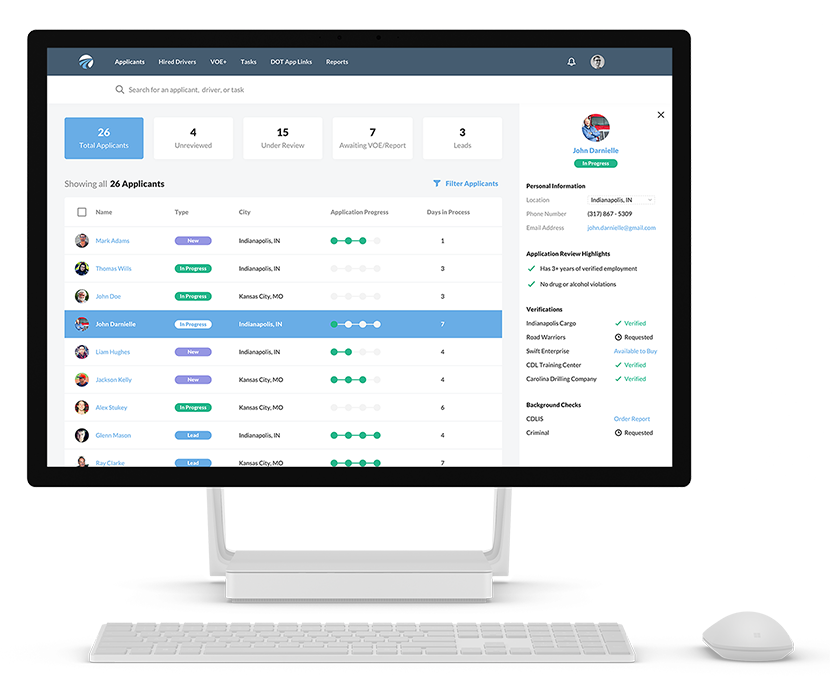 DriverReach-CDL-Truck-Driver-Applicant-Tracking-CRM-and-Employment