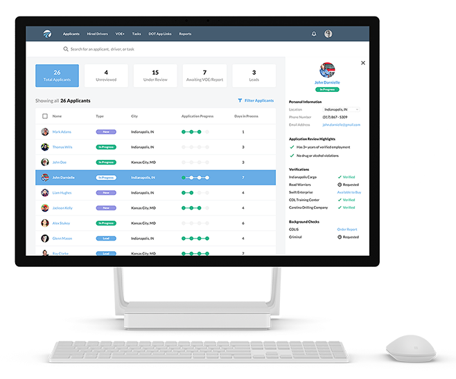 DriverReach - Recruiting Management Software