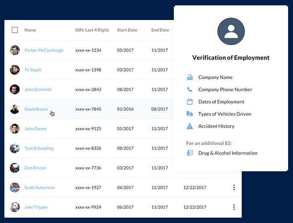 DriverReach Software - Reporting